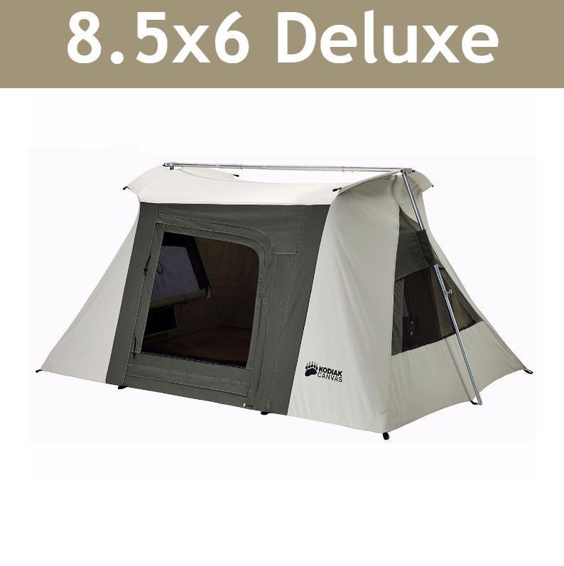 Video; assets/images/6086frame.jpg ...  sc 1 st  Competitive Edge Products Inc & Kodiak 6086 Canvas 2-Person 6 x 8.5 Flex Bow Tent