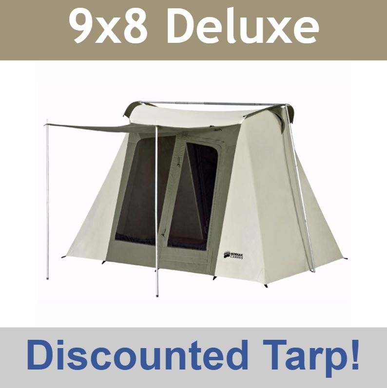 Video; assets/images/6098frame.jpg ...  sc 1 st  Competitive Edge Products & Kodiak Canvas Tent 6098 9x8 Flew-Bow - Special Offer Discounted Tarp