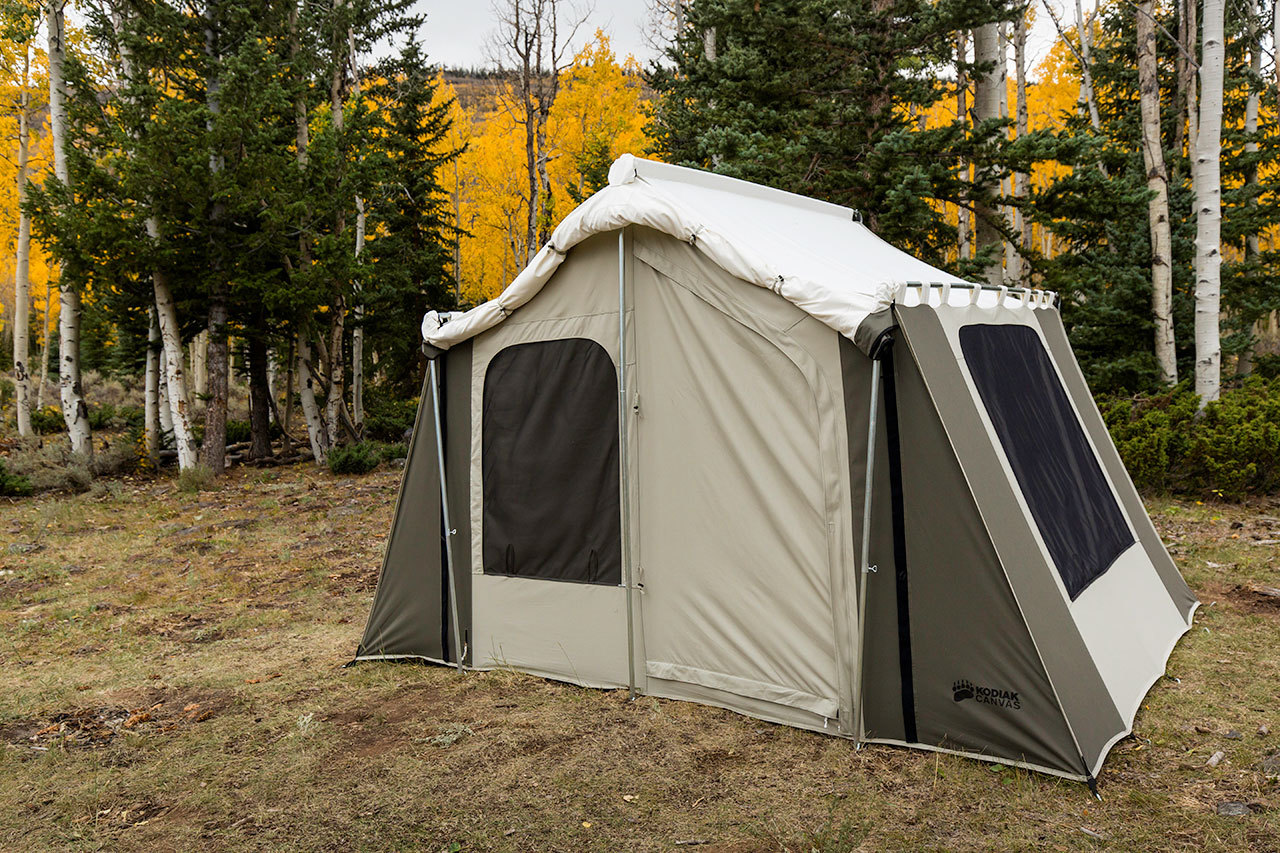 Kodiak Canvas Cabin Tent 6133 6-Person 9x12 With Deluxe ...