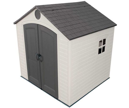 8 x 7.5 Lifetime Sheds