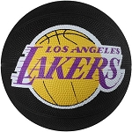 Spalding 65-545E Los Angeles Lakers Mini Rubber Basketball