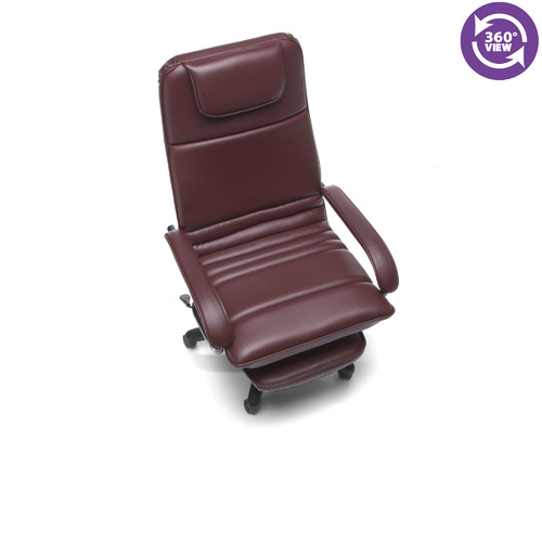 OFM 680 Posture Power Rest Executive Vinyl Recliner Chair