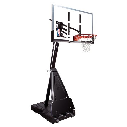 Spalding 68564 Acrylic 54 Quot Portable Goal On Sale With Free
