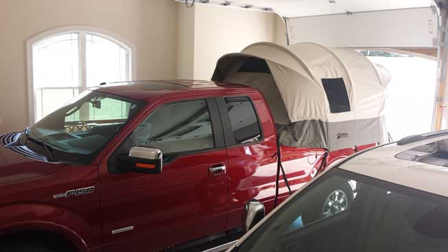 Kodiak Truck Bed Tent 7206 For 5 5 To 6 8 Ft Bends