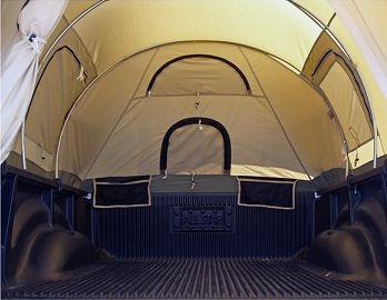 Kodiak Canvas Tent 7218 For 8 Ft Truck Bed Free Cargo