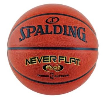 NeverFlat Basketballs by Spalding