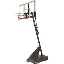 Spalding 54 Inch Acrylic Portable Basketball Hoop Model