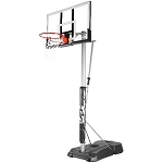 Spalding 52-Inch Acrylic Portable Basketball Hoop (Model 75761)