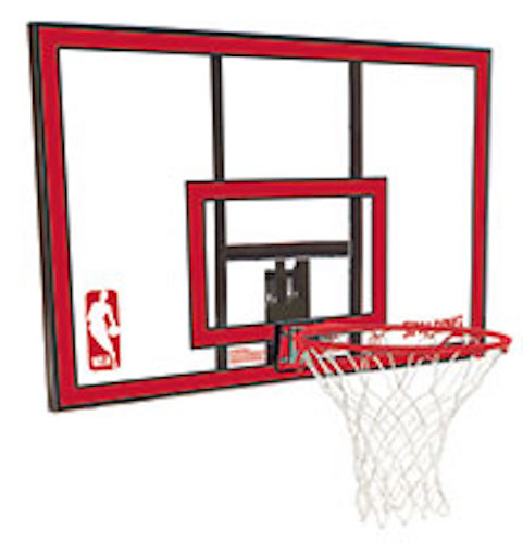Spalding Basketball Backboard and Rim Combo 791351 44 in. Polycarbonate