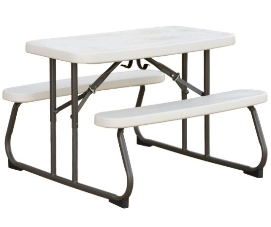 Folding Tables with Benches