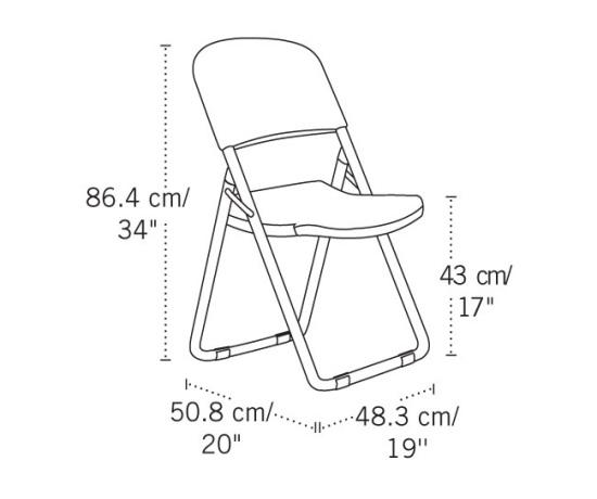 Peachy Lifetime Folding Chairs 80155 White Granite Loop Leg Chair 4 Pack Interior Design Ideas Apansoteloinfo