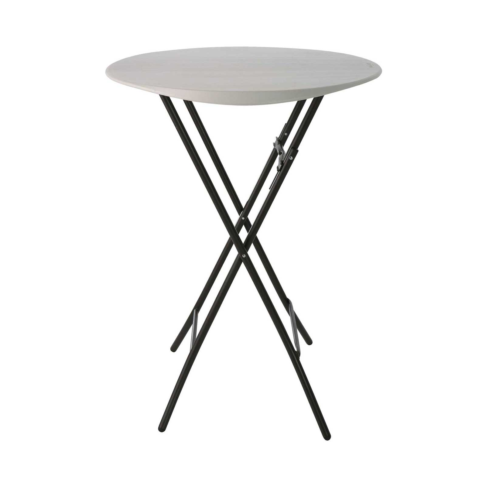 Lifetime 80362 33-Inch Round Bistro Table (almond)