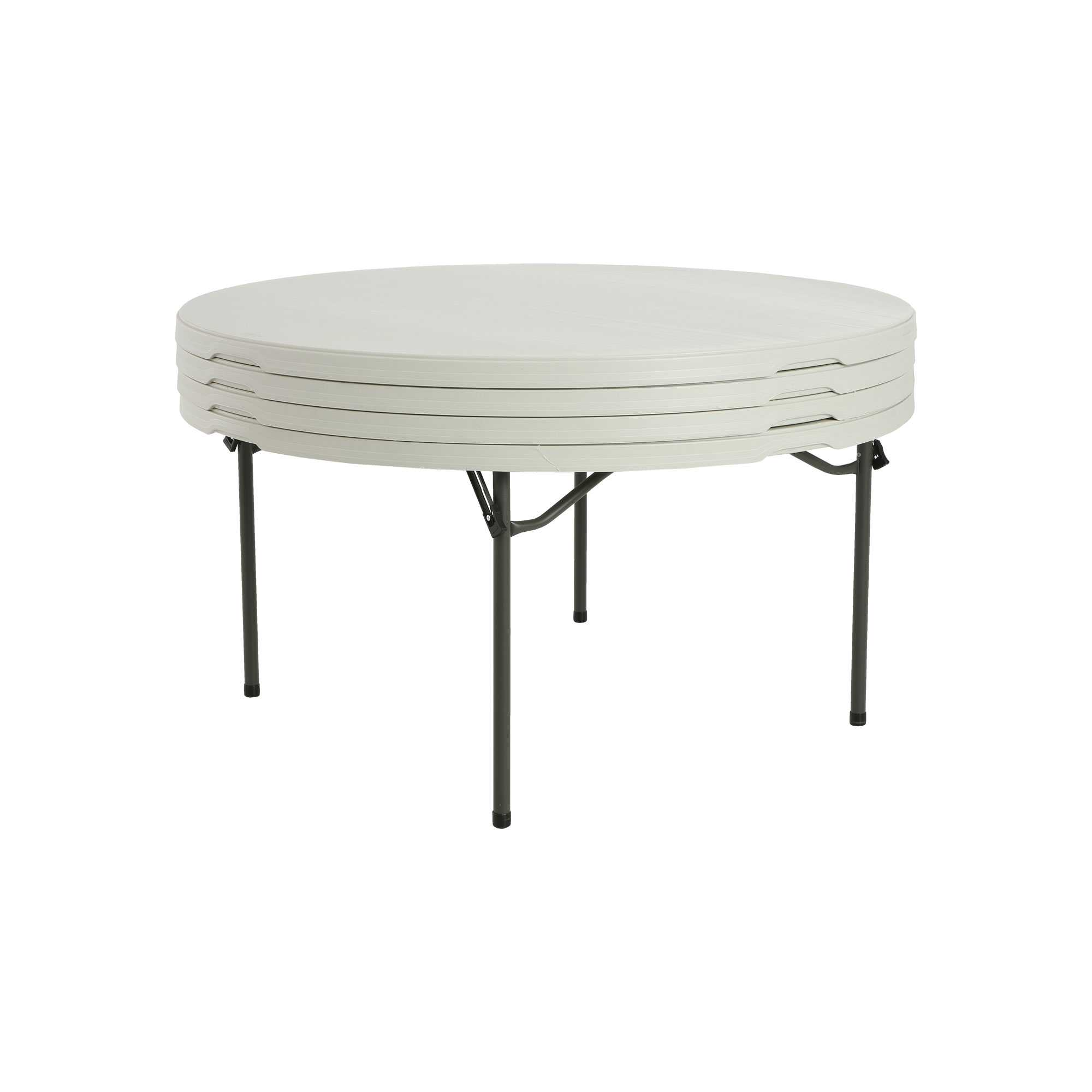 Lifetime Round Folding Tables 80435 60 Inch 15 Pack