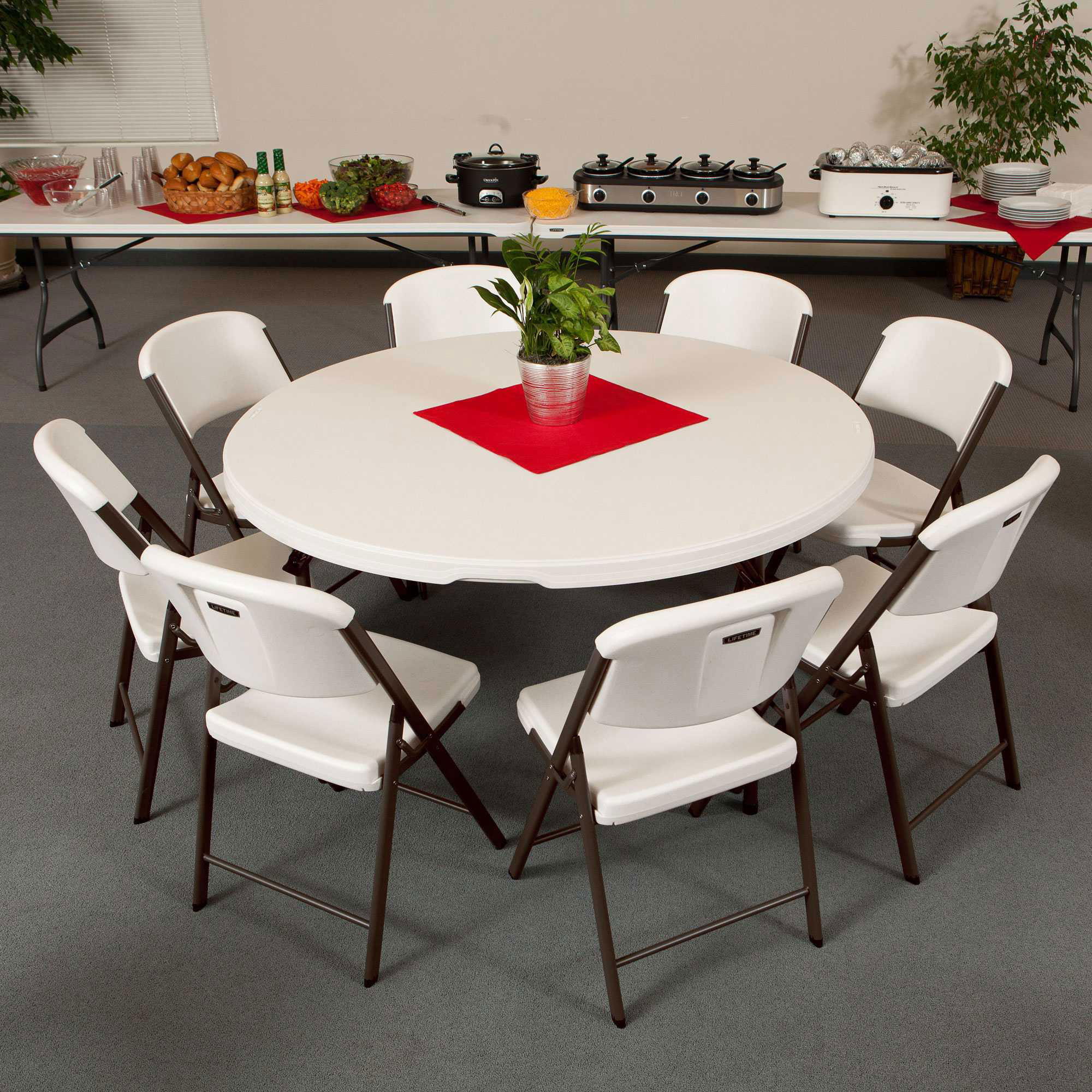 Lifetime 80458 Table And Chair Package Sale With Fast