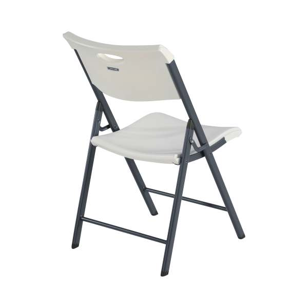 Lifetime Folding Chairs 80643 White Granite Commercial 4 Pack