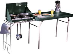 Lifetime 8190 Portable Camp Table Stove Rack Camping