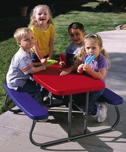 SO PACK Lifetime Kids Children Childs Folding Picnic Table - 12 person picnic table