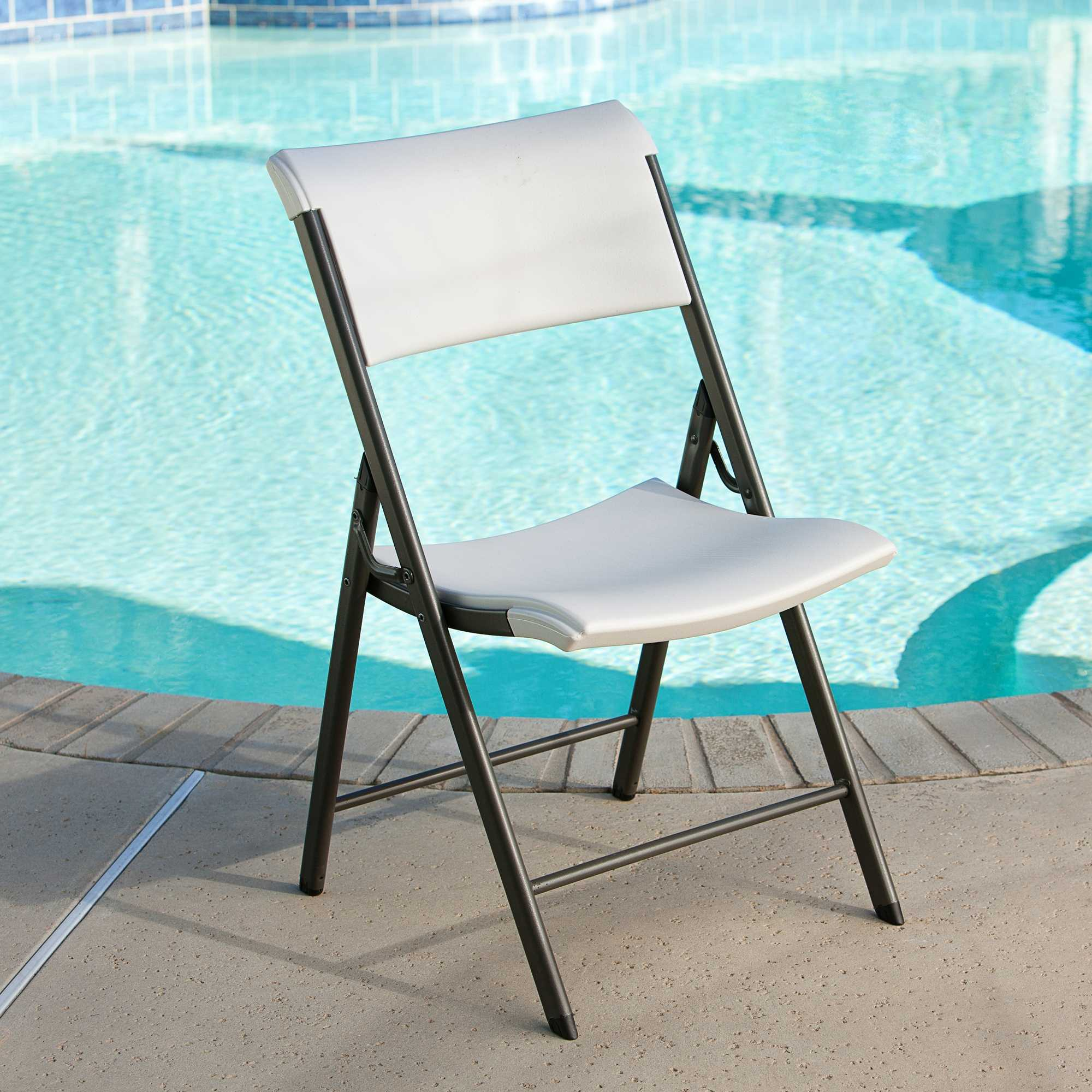 Lifetime 80372 Almond 34 Pack Folding Chair On Sale With