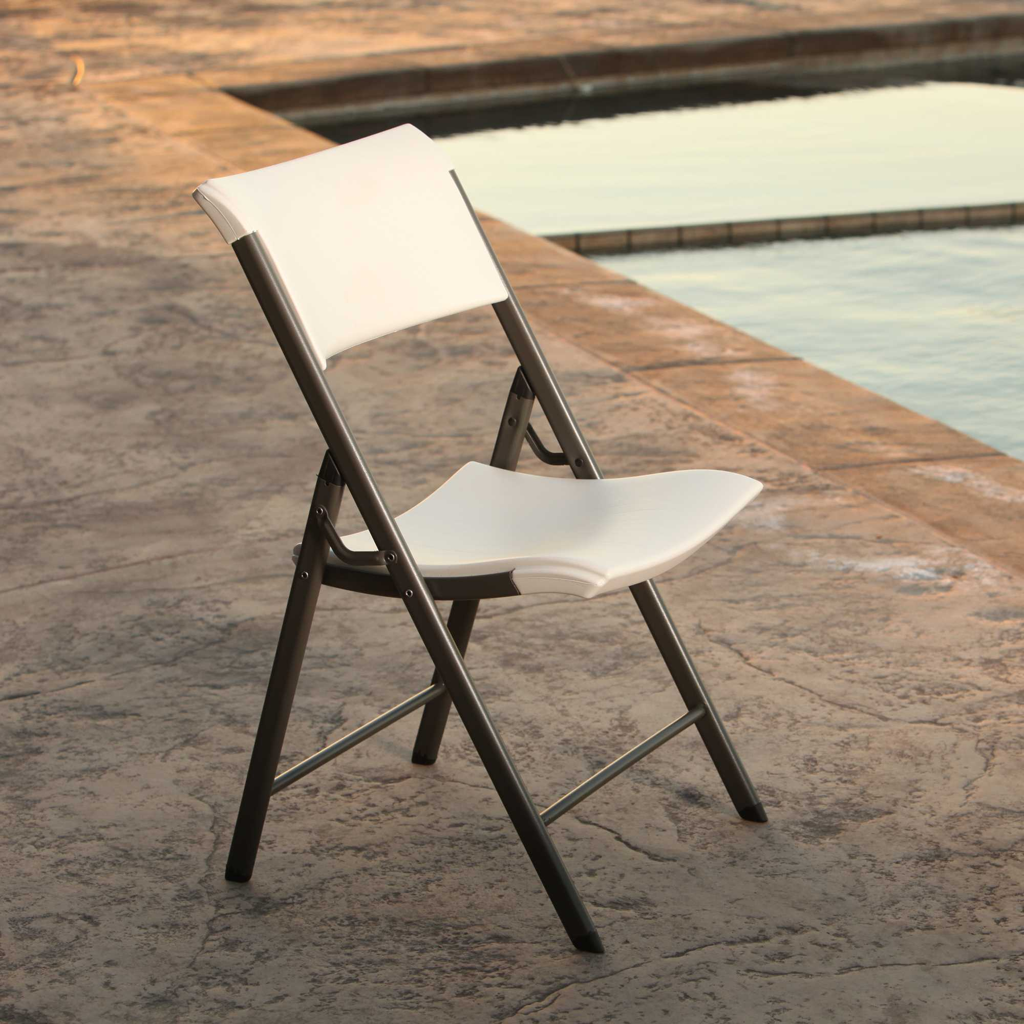 Lifetime 80372 Almond 34-Pack Folding Chair on Sale with ...