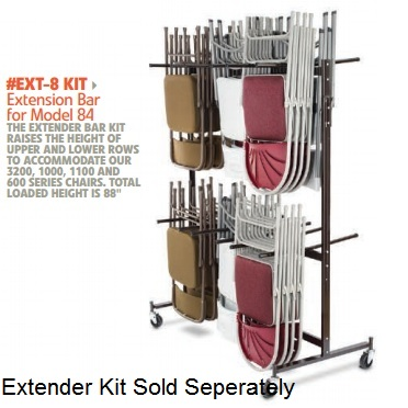 Nps 84 Caddy Chair Storage Cart On Sale With Fast And Free