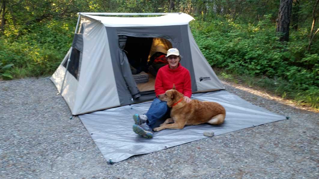 Kodiak 6086 Canvas 2 Person 6 X 8 5 Flex Bow Tent