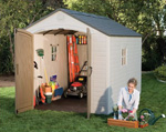 8 Ft Wide Sheds