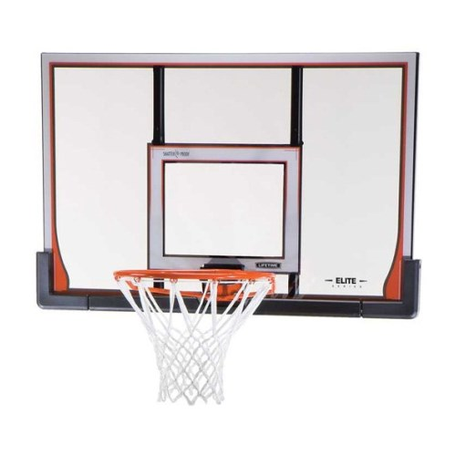 Lifetime 48-inch Backboard and Rim Combo 90010 ShatterGuard System