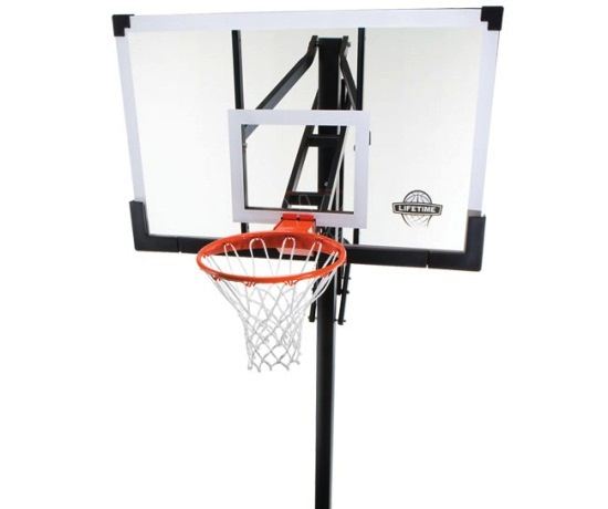 lifetime basketball goal lifetime in ground basketball system 90014 w 54 inch 29282