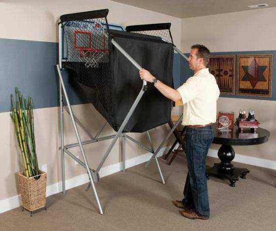 lifetime double shot arcade basketball game 90056. Black Bedroom Furniture Sets. Home Design Ideas
