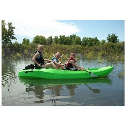 Lifetime Sit On Top Kayak 10 Ft 90116 Lime Color Tandem Kayak