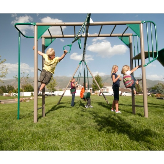 Lifetime 90143 Monkey Bar Play Set Playground With Slide