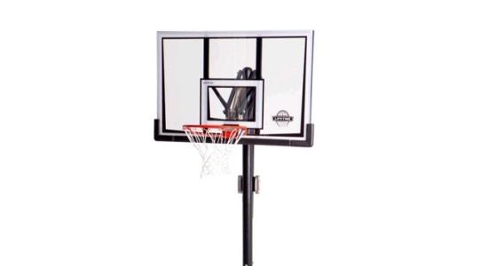 Lifetime Portable Basketball Hoop 90167 Front Adjust 52 In