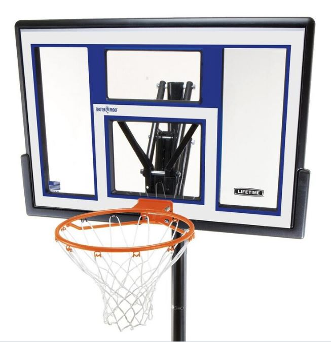 Convert Lifetime Portable Basketball Goal To Inground Round Designs