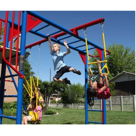 Lifetime 90177 Monkey Bar Playground Slide Swings Free Shipping