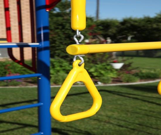 Lifetime 90177 Monkey Bar Playground Slide Swings Free Shipping