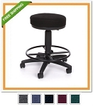OFM Portable Office Stool 902-DK Adjustable Height Stool, Drafting Kit