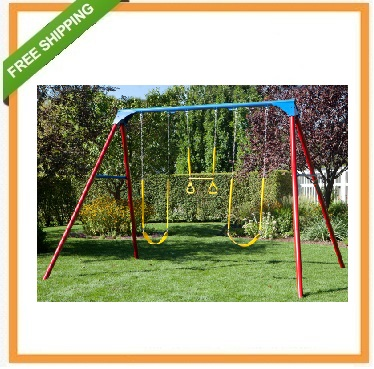 Lifetime A-Frame Swing Set - 90200 Primary Colors