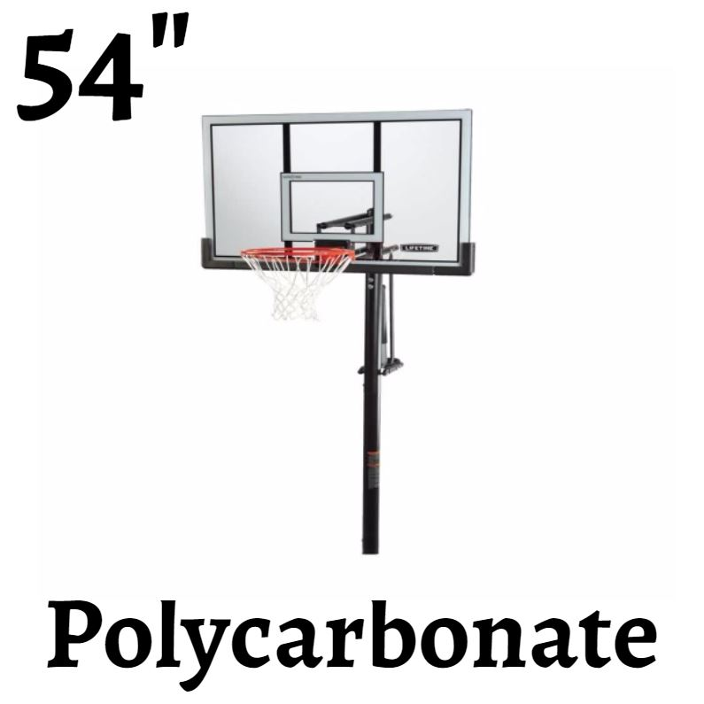 Lifetime 90460 Inground 54 Basketball System On Sale Free Shipping