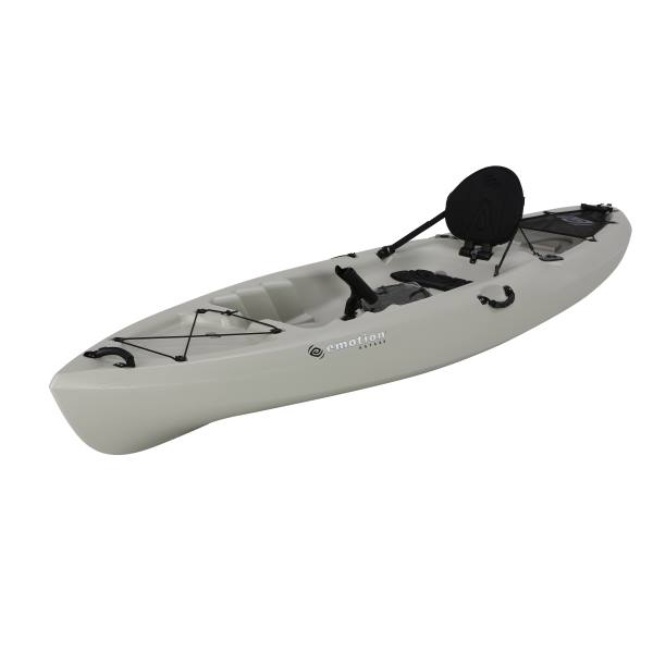 Lifetime 90514 Emotion Stealth Angler Kayak 11 Foot Sandstone 2 Pack
