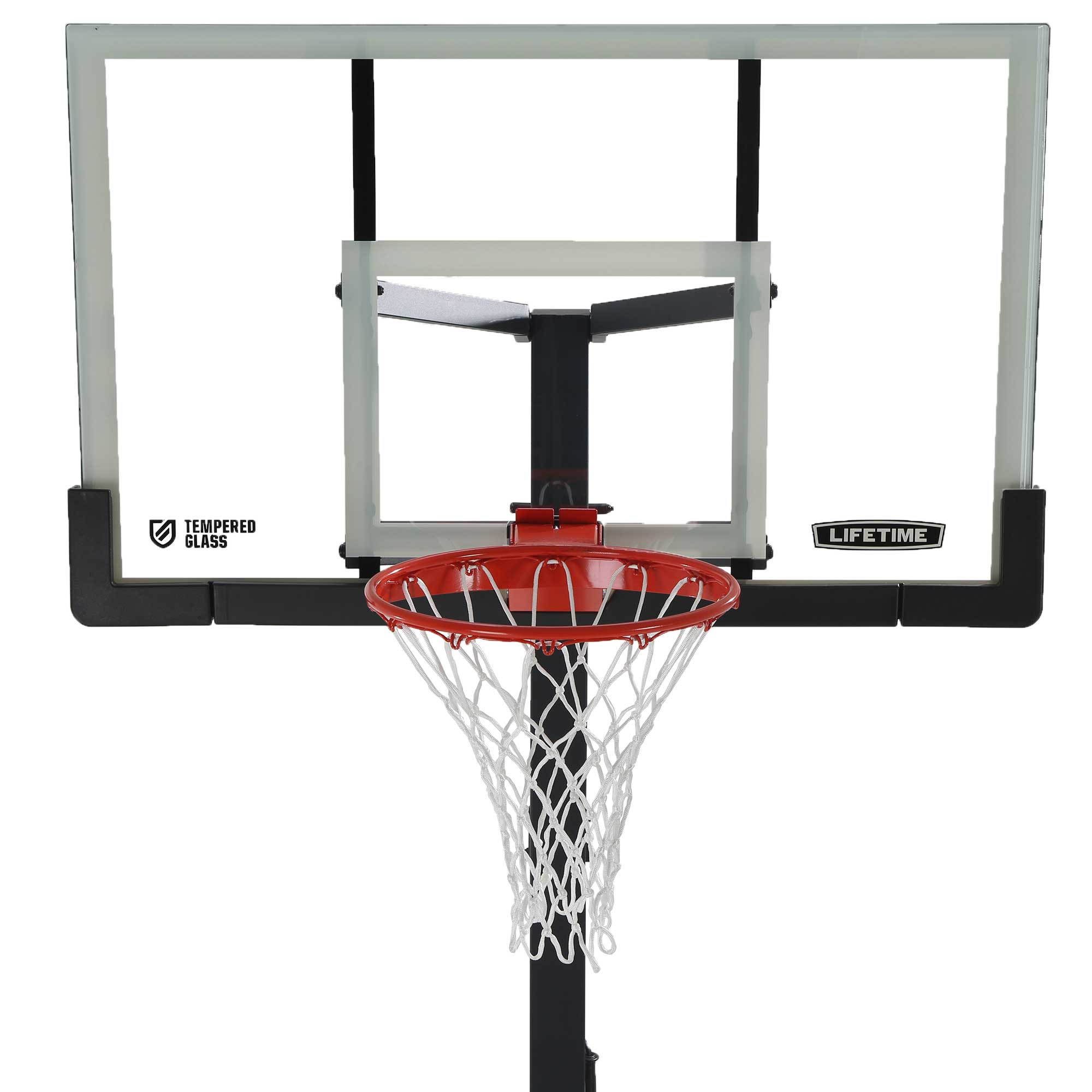 Lifetime 90569 60 Inch Glass Basketball Goal On Sale Free Shipping
