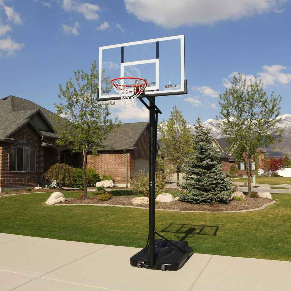 Lifetime Portable Basketball Goal 90631 54 Inch Backboard