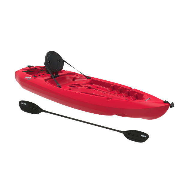 Lifetime Sit-on-Top Kayak 8-Ft. Daylite Fire Red Includes a Paddle