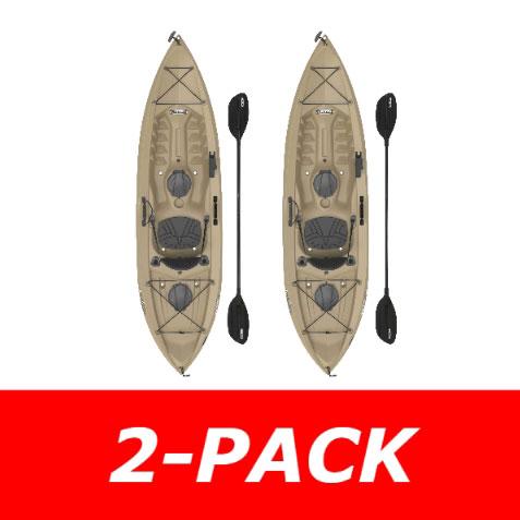 Lifetime 90806 Muskie Angler Tamarack Sit On Top Fishing Kayak On Sale With Fast Free Shipping