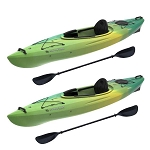 Lifetime 90877 Emotion Tide Sit-Inside Kayaks 2 Pack