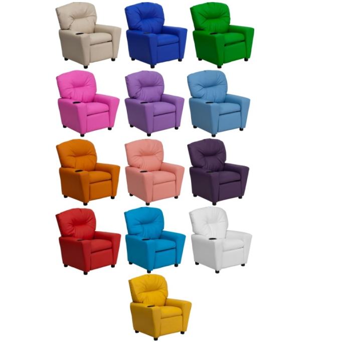 Incredible Home Furniture Bt 7950 Kid Gg Vinyl Kids Recliner Machost Co Dining Chair Design Ideas Machostcouk