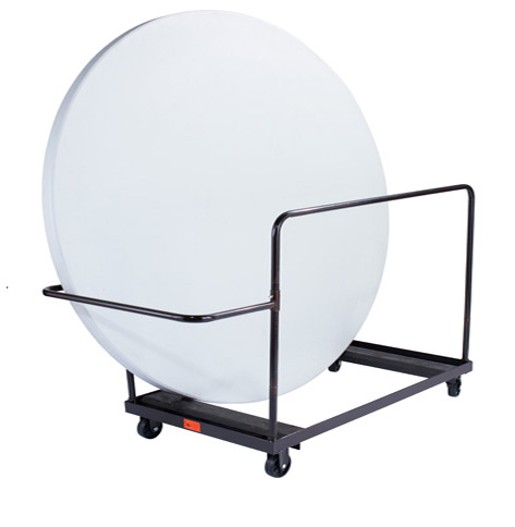 Heavy Duty Nps Side Stacking Cart for 72 Inch Round Tables