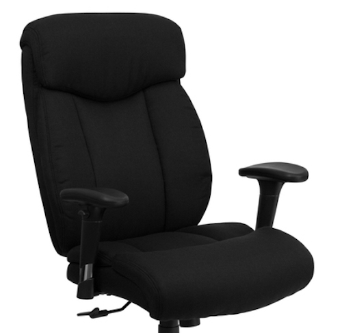 Big And Tall Office Chairs Hercules Series Black Fabric