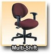 Office Chairs - Multi-Shift