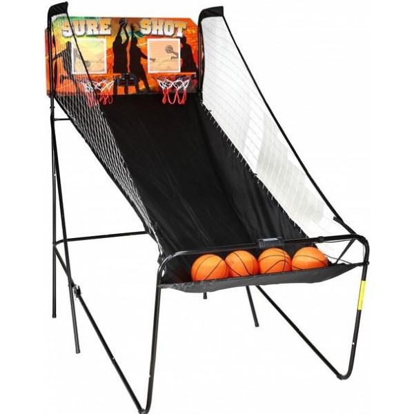 Sure Shot 2-Player Electronic Arcade Basketball Game NG2233BL