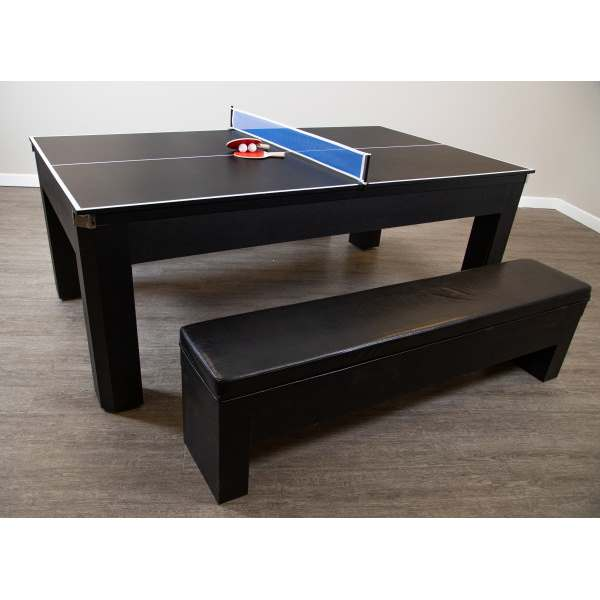 Park Avenue NGPR Foot Billiard Table With Benches And Top - 7 foot billiard table